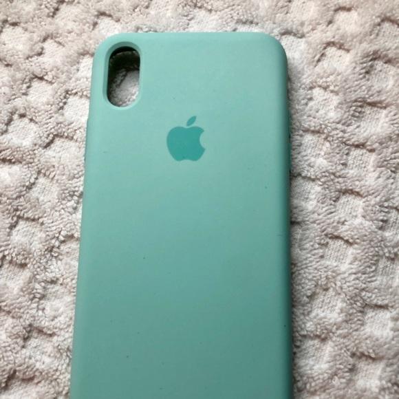 pretty nice 16df5 e2513 Apple iPhone X Marine Green silicone case